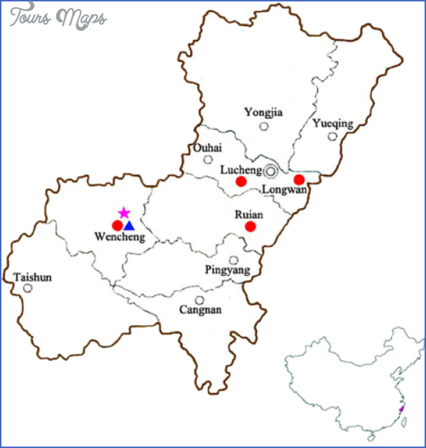 wenzhou map 10 Wenzhou Map