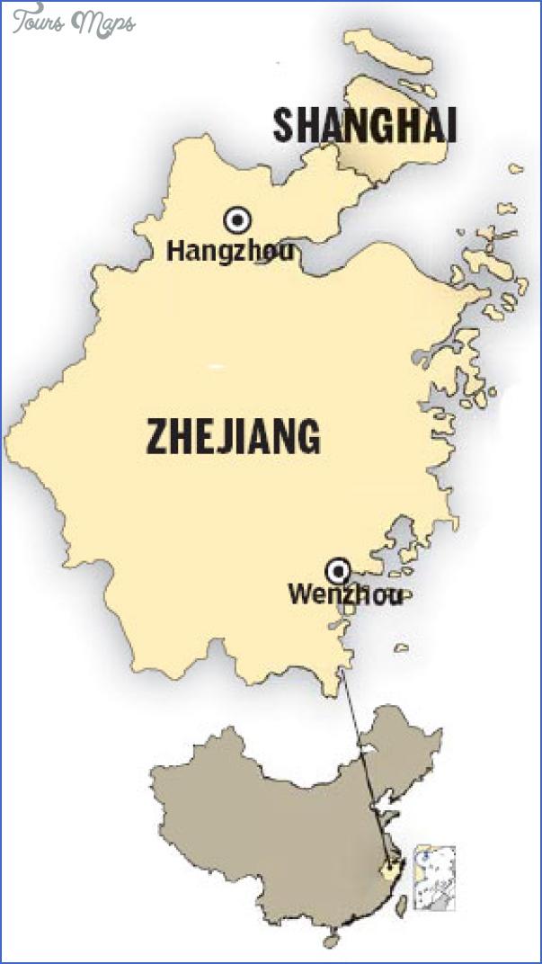Wenzhou Map