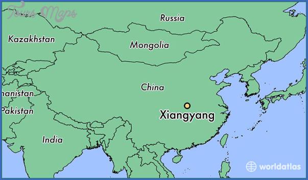 xiangfan map 14 Xiangfan Map