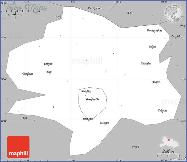 xiangfan map 5 Xiangfan Map