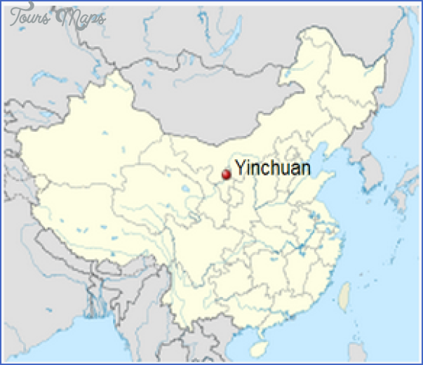 yinchuan map 11 Yinchuan Map