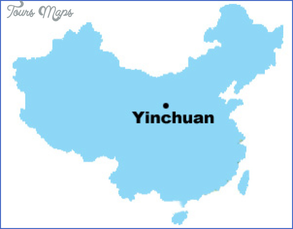 yinchuan map 7 Yinchuan Map