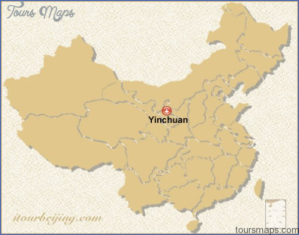 yinchuan map 8 Yinchuan Map