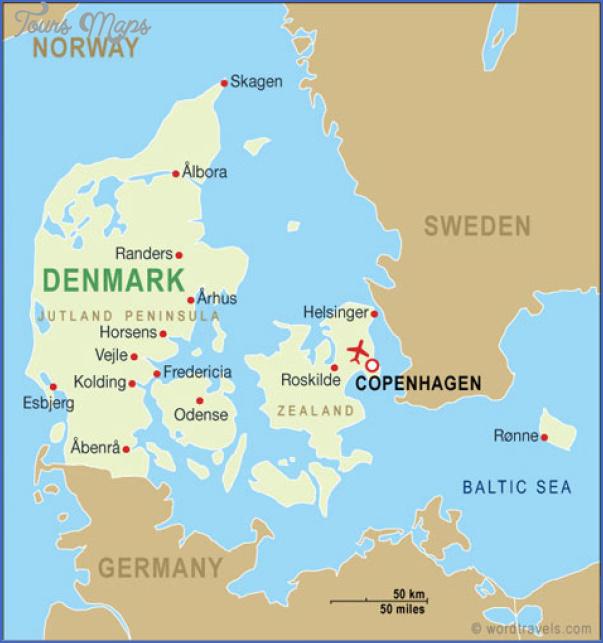 zealand denmark map 10 Zealand Denmark Map