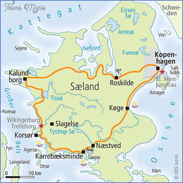 zealand denmark map 6 Zealand Denmark Map