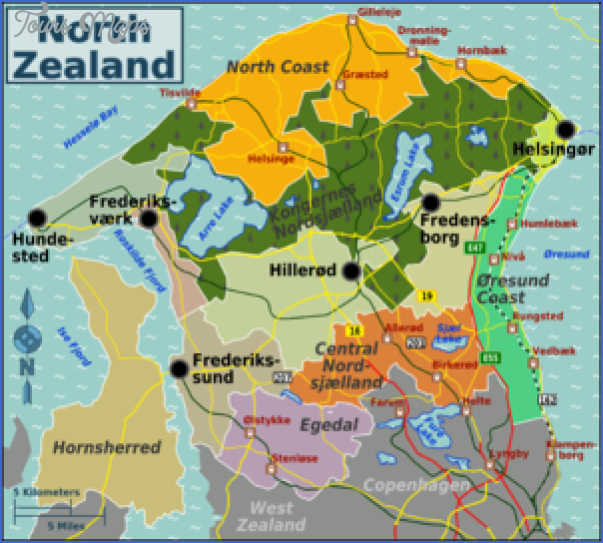 zealand denmark map 7 Zealand Denmark Map