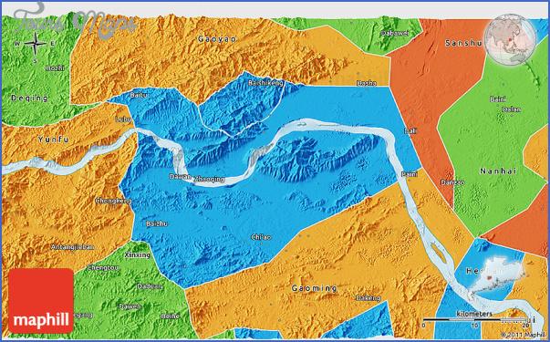 zhaoqing map 5 Zhaoqing  Map