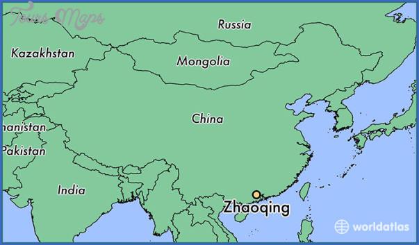zhaoqing map 6 Zhaoqing  Map