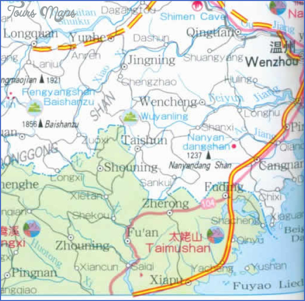zhejiang map 6 Zhejiang Map