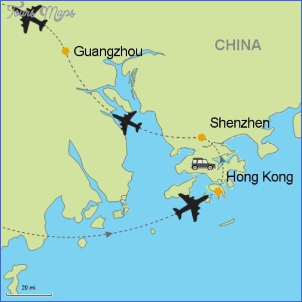 87430 itinerary maps500 SHENZHEN GUANGZHOU MAP
