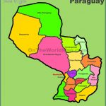 administrative divisions map of paraguay 150x150 Paraguay Map