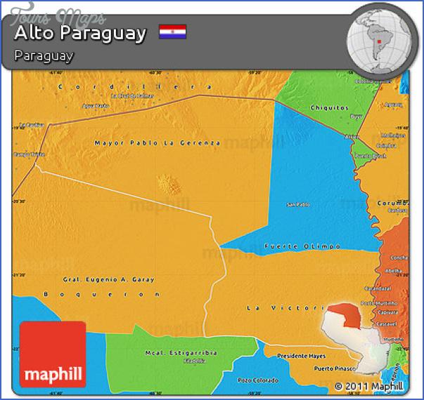 altos map paraguay 0 Altos Map Paraguay