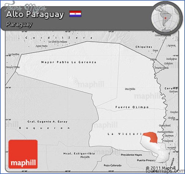 altos map paraguay 5 Altos Map Paraguay