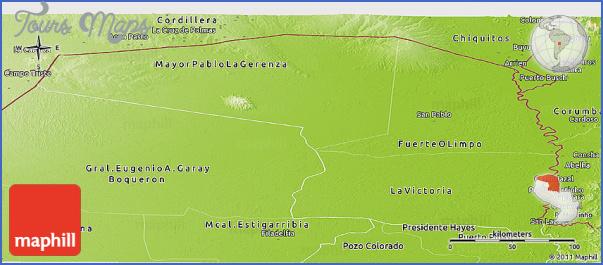 altos map paraguay 7 Altos Map Paraguay