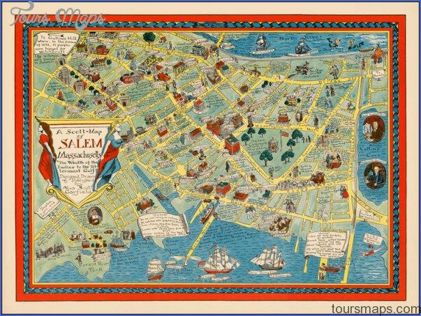 map of salem village 1692 Archives ToursMapscom