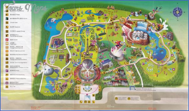 asia maps of shenzhen SHENZHEN TOURIST MAP
