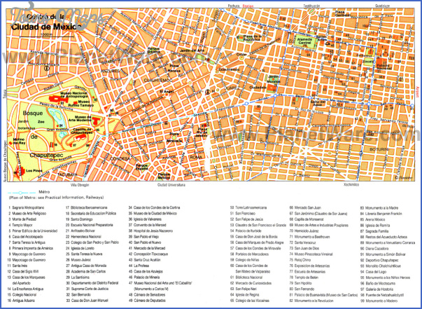 asuncion map tourist attractions 33 Asuncion Map Tourist Attractions