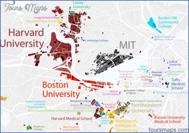 Boston University Map Boston University US Map & Phone & Address   ToursMaps.®