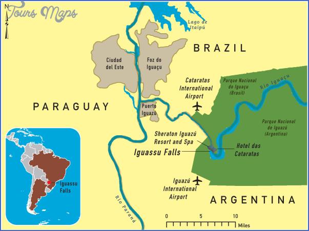 ciudad del este map paraguay 34 Ciudad del Este Map Paraguay