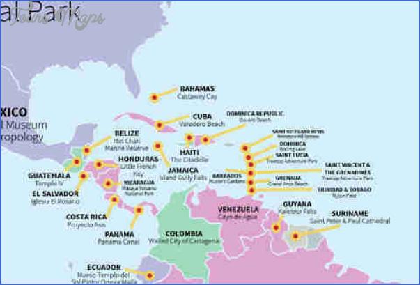 ciudad del este map tourist attractions 2 Ciudad del Este Map Tourist Attractions