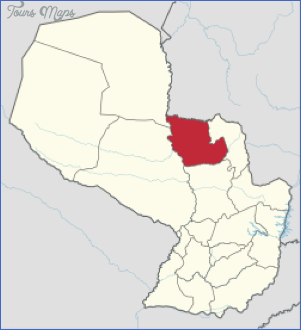concepcion paraguay map 11 Concepcion Paraguay Map