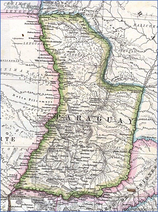 concepcion paraguay map 4 Concepcion Paraguay Map