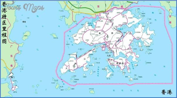 hk20map MAP SHENZHEN TO HONG KONG
