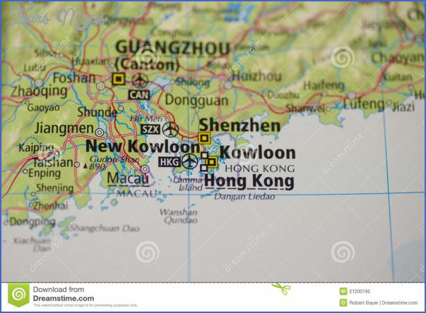 hong kong map 21200195 SHENZHEN MAP HONG KONG
