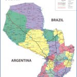 large detailed administrative and road map of paraguay 150x150 Paraguay Maps & GPS