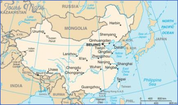 map 1 MAP SHENZHEN EMS CHINA