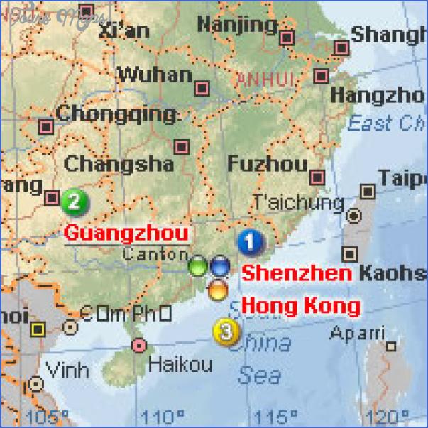 map 7d 03s SHENZHEN GUANGZHOU MAP