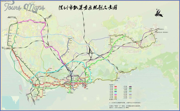 metro2 SHENZHEN METRO MAP FUTURE