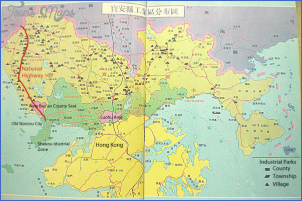national highway 107 SHENZHEN FUYONG MAP