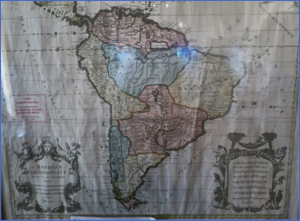 paraguay map before war 10 PARAGUAY MAP BEFORE WAR