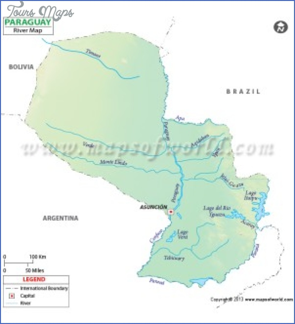 paraguay river on world map 1 PARAGUAY RIVER ON WORLD MAP