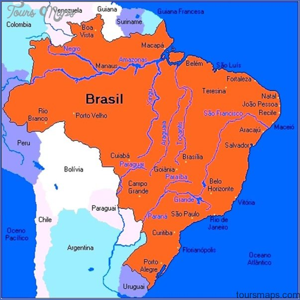 Paraguay River Map PARAGUAY RIVER ON WORLD MAP   ToursMaps.® Paraguay River Map