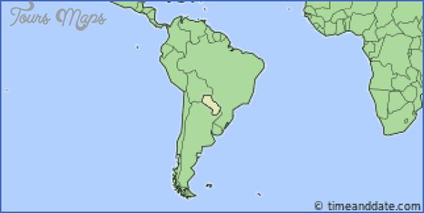 paraguay time zone map 1 PARAGUAY TIME ZONE MAP