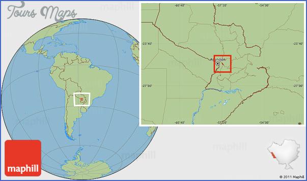 san bernardino map paraguay 7 San Bernardino Map Paraguay