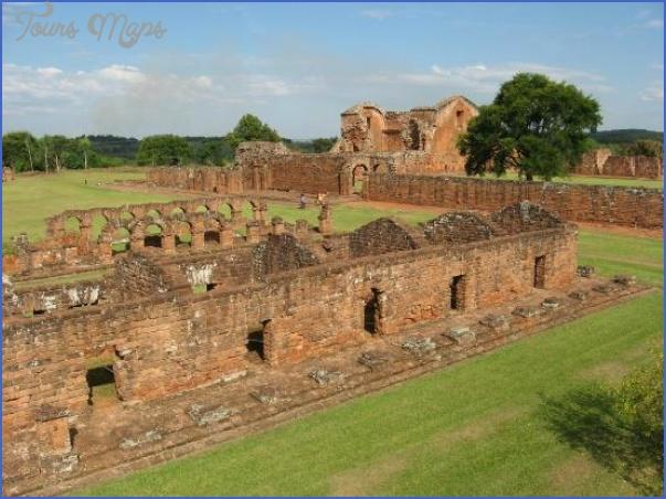 santisima trinidad del parana map paraguay 10 Santisima Trinidad del Parana Map Paraguay