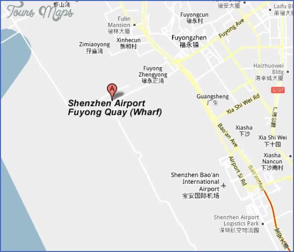 shenzhen airport terminal map 4 SHENZHEN AIRPORT TERMINAL MAP