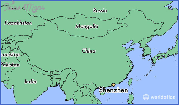 shenzhen china world map 2 SHENZHEN CHINA WORLD MAP