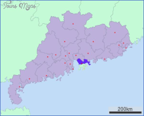 shenzhen guangdong map 5 SHENZHEN GUANGDONG MAP