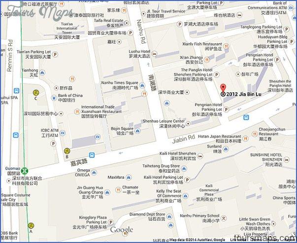 shenzhen luohu map 9 SHENZHEN LUOHU MAP