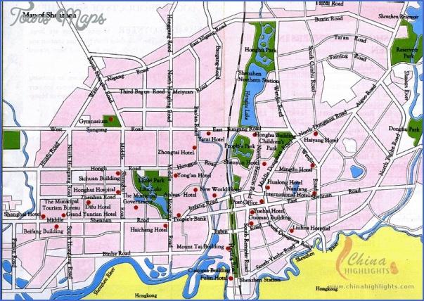shenzhen map 2 SHENZHEN SUBWAY MAP IN ENGLISH