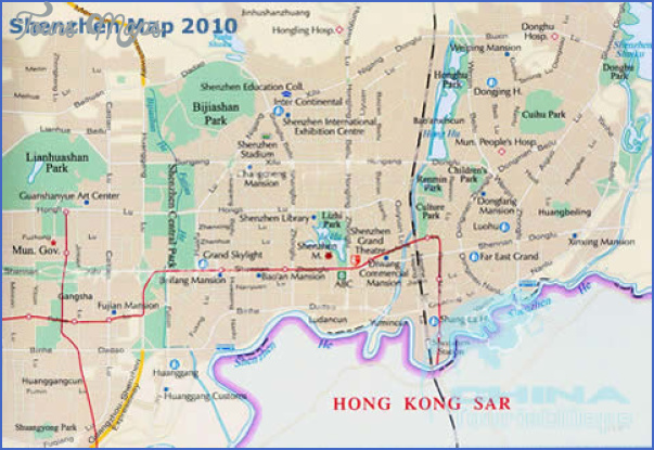 shenzhen map english version 0 SHENZHEN MAP ENGLISH VERSION