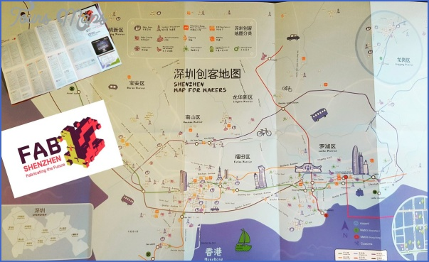 shenzhen map for makers 3 SHENZHEN MAP FOR MAKERS