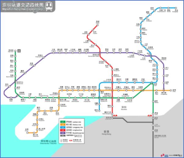shenzhen map futian 0 SHENZHEN MAP FUTIAN