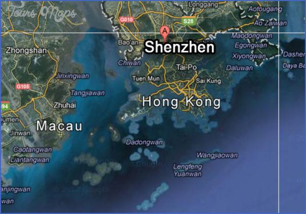 shenzhen map google 5 SHENZHEN MAP GOOGLE