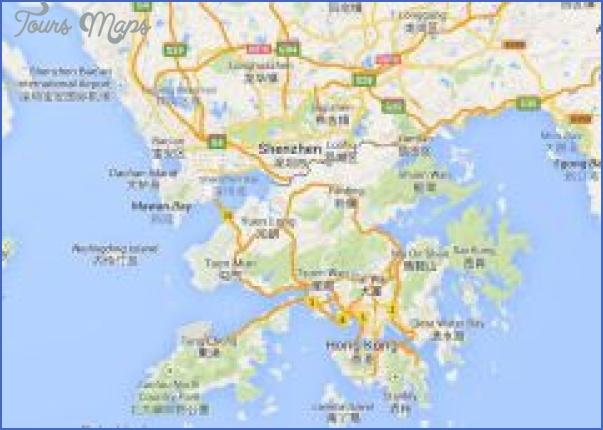 shenzhen map hong kong 1 SHENZHEN MAP HONG KONG