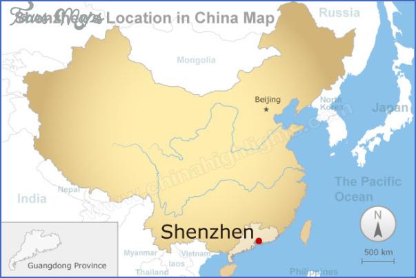 shenzhen map in china 1 SHENZHEN MAP IN CHINA